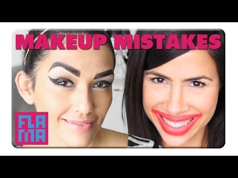 How NOT to Do Your Makeup