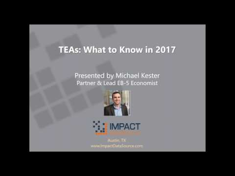 EB-5 TEAs: What to Know in 2017