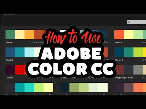 How to Use Adobe Color CC with Adobe Illustrator CC