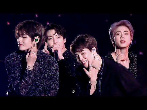 [방탄소년단/BTS] 보조개 (Dimple) 무대 교차편집 stage mix(stage compilation)(kor Lyrics ver)