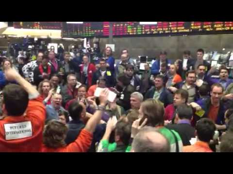 "CME Wheat Pit ""when the screens go down"""
