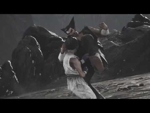 Tekken 7 Kid Kazuya Vs Heihachi Heihachi Throws Kazuya Off Cliff