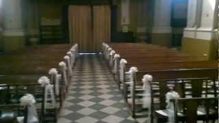 comment décorer église pour mariage