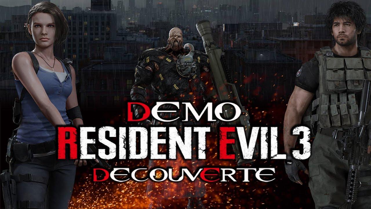 Live [FR] Découverte Démo Resident Evil 3