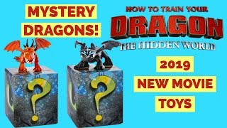 How to Train Your Dragon Hidden World  MYSTERY DRAGONS ! 2019 New Movie Mystery Dragons 2-packs