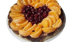 Рецепт пирога с творогом и шоколадом