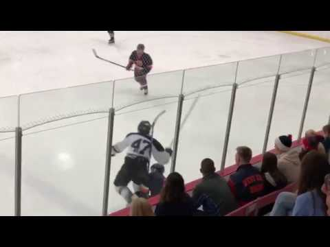 High School Hockey Biggest Hits Part 4