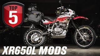 Top 5 Honda XR650L Mods