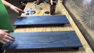 Amateur Wood Finishing 101 Introduction to Water-Based Staining Wood (Part 2)