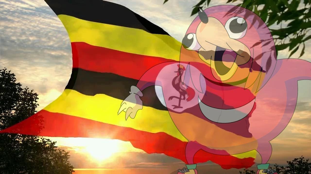 Knuckles sings the Ugandan National Anthem
