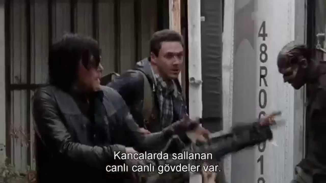 The Walking Dead 5sezon 16bölüm Sezon Finali Kamera Arkası Youtube