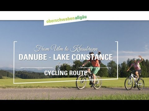 Danube To Lake Constance Cycle Route - Bike Tour In Germany