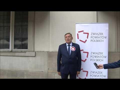 Wieńczysław Oblizajek, Starosta Kolski podczas Zgromadzenia Jubileuszowego ZPP
