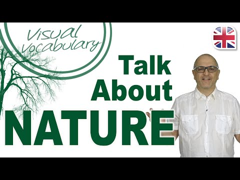 25 Phrases to Talk About Nature and Landscapes in English - Visual Vocabulary Lesson