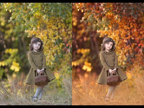 The Innocence Collection Workflow 2 Photoshop Actions Tutorial