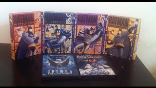 Batman The Animated Series Vol 1-4 + Movies
