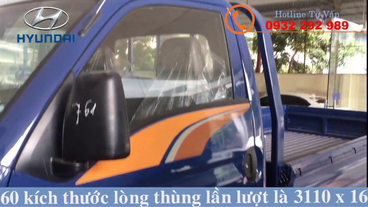 Hyundai Porter H150 Thùng Lửng Thành Công 1,5 Tấn - YouTube