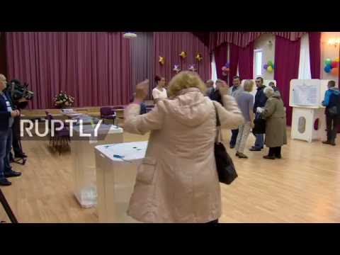 LIVE: Opening of polls in Moscow for parliamentary election