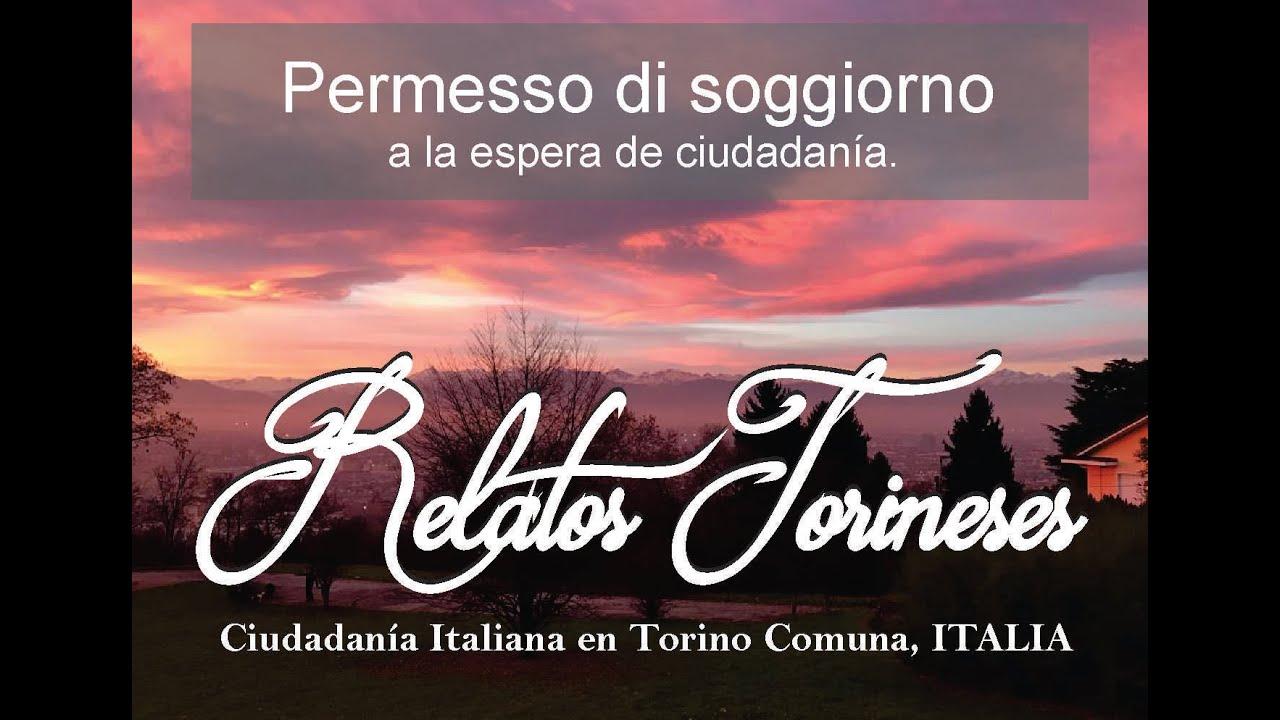 Permesso di soggiorno a la espera de ciudadanía en Torino ...