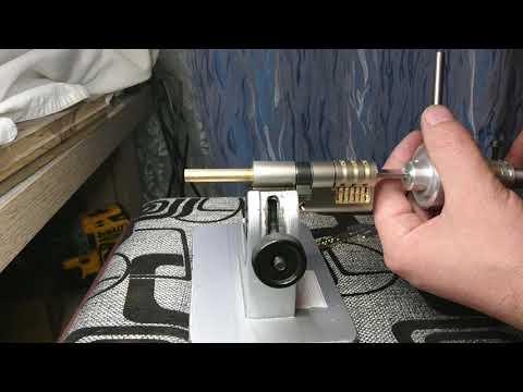 Взлом отмычками GERDA PRO  Lockpicking tool for Gerda PRO