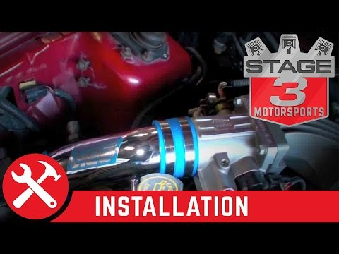 1994-1995 Mustang GT/Cobra BBK Throttle Body and Cold Air Intake Installation