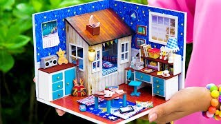 DIY Dollhouse Boy Room