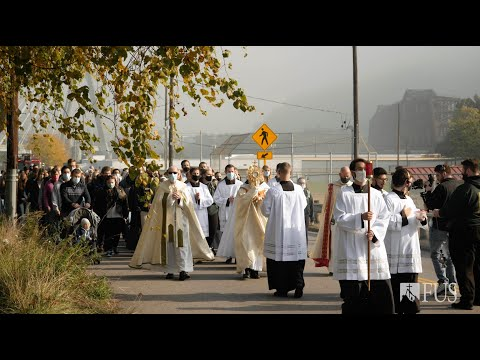Unite Our Nation Mass and Eucharistic Procession | Franciscan University of Steubenville