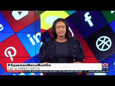 #AgyemanManuMustGo: Ghanaians react to Sputnik V saga - JoyNews Interactive (9-8-21)