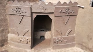 Village Style Kitchen | Desi Kitchen | Clay Kitchen | Mud Kitchen | Primitive Technology Kitchen