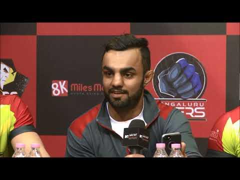 Press Conference - U.P. Nawabs VS Gujarat Warriors
