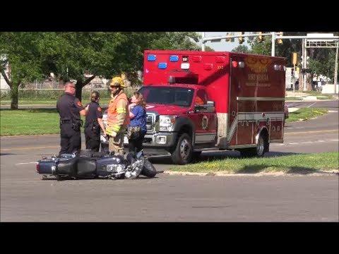 2017-07-06 Car, Motorcycle Accident - Waterloo, Iowa - Myke Goings - KMDG