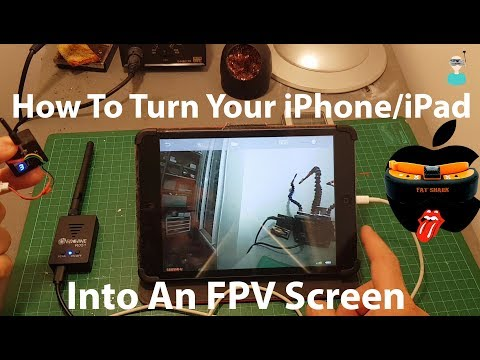 How To Turn Your IPhone Into An FPV Screen - Eachine R051 Testing & Overview
