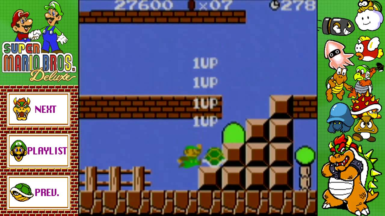 Game boy color super mario bros deluxe - Let S Play Super Mario Bros Deluxe Luigi Gbc Episode 28 Smb For Super Players World 1