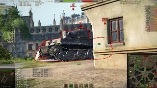 World of Tanks  Советую посмотреть до конца Взвод на VK 100 01P против КВ 5 хороший домаг бой как вс