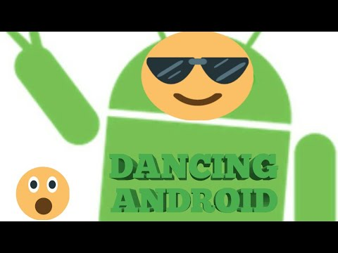 DANCING ANDROID ROBOT!