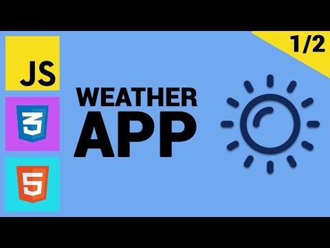 Tutorial Weather App Folosind JS Vanilla, HTML Si CSS (1/2)