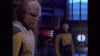 Repeat youtube video Star Trek The Next Generation: Lt. Worf Bloopers