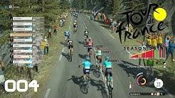 Tour de France 2019 [PS4] #004 - Erste Bergankunft - Let's Play