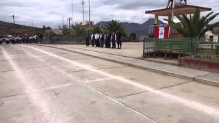 DESFILE CIVICO EN CARHUANCA 25 DE JULIO 2014