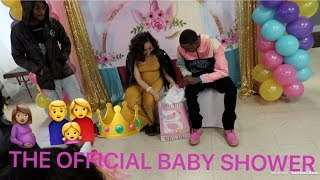 THE OFFICIAL BABY SHOWER   PT 1
