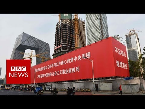 China congress: The Communist slogans praising Xi Jinping - BBC News