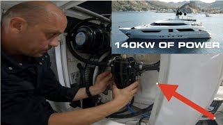 How To Service A Marine Diesel Generator - Super Yacht Edition (Captain's Vlog 99)