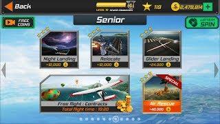 Flight Pilot Simulator 3D Android Game - Senior Missions
