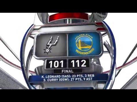 San Antonio Spurs vs Golden State Warriors | April 7, 2016 | NBA 2015-16 Season