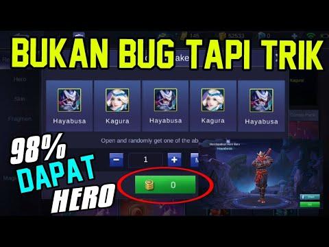 TERBONGKAR! TRIK MENDAPATKAN HERO HAYABUSA DI LUCKY BP BUNDLE + GIVEAWAY!!! - Trik Mobile Legends