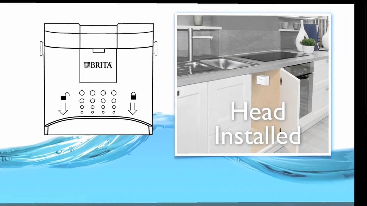 Brita Quot Redi Twist Quot 1 Stage Under Sink Filtration System