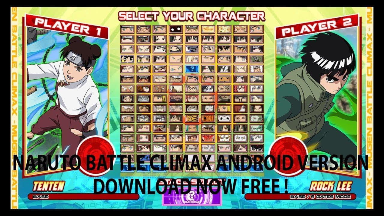 naruto mugen 2018 download android