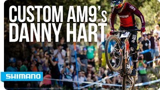 New custom AM9 shoes for Danny Hart | SHIMANO
