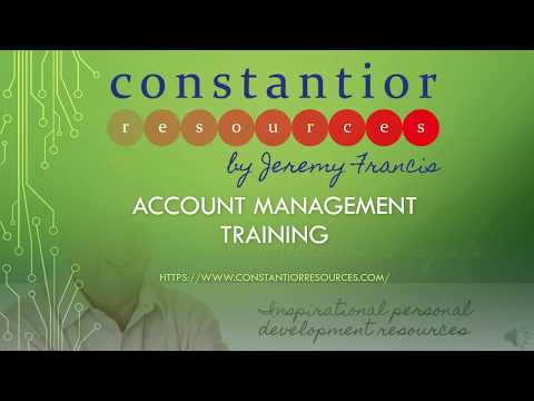 Account Management Training Resources