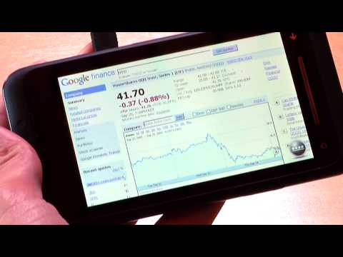 Flash in the Smartphone Browser - Demo on a Toshiba TG01 w/ Windows Mobile